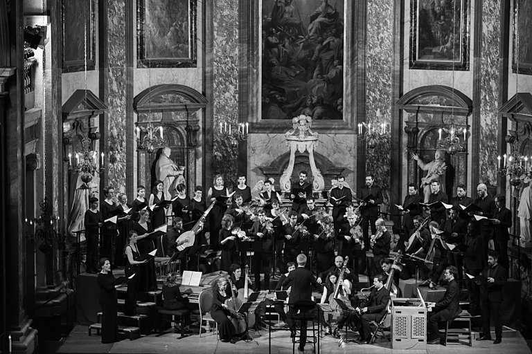 Sacre de Louis XIV Correspondances Dauce 041 Nathalie de Ribier Les Grands Concerts